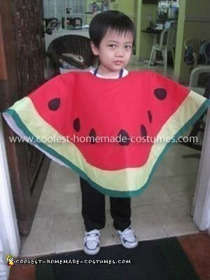Homemade Watermelon Costume