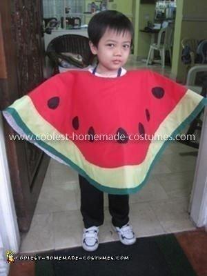 Homemade Watermelon Costume