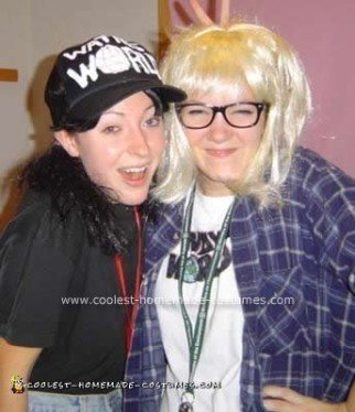 Homemade Wayne's World Couple Costume