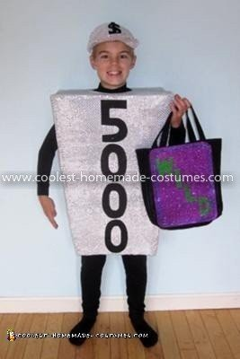 Coolest Wheel Of Fortune Costume