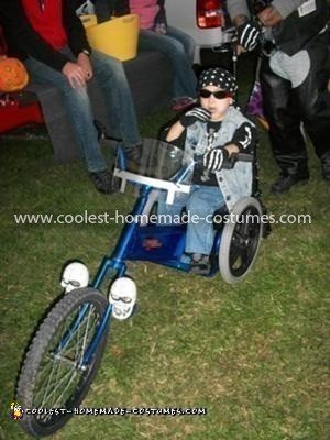 Coolest Wheelchair Trike Costume