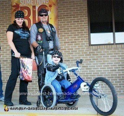 Coolest Wheelchair Trike Costume