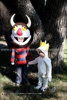 Homemade Where the Wild Things Are Couple Costume