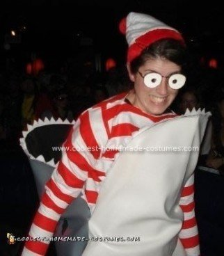 Where's Waldo Homemade Halloween Costume
