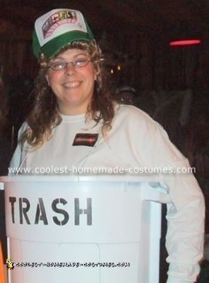 Homemade White Trash Costume