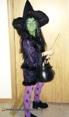 Wicked Witch Halloween Costume