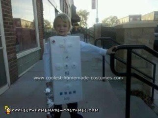 Homemade Wii Remote Costume