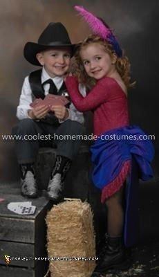 Homemade Wild West Couple Costume