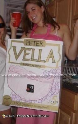 Regina's Working Box of Wine Costume