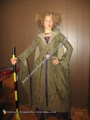 Homemade Winifred Sanderson from Hocus Pocus Halloween Costume Idea