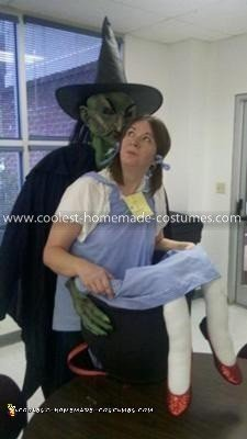 Coolest Witch and Dorothy Illusion Costume 5