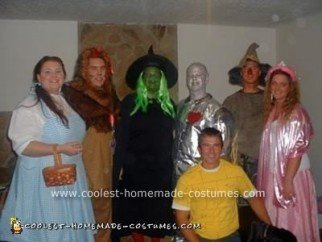 Homemade Wizard of Oz Costumes