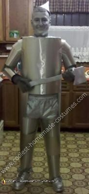 Wizard of OZ Tin Man DIY Halloween Costume