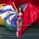 Homemade Wonder Woman Costume