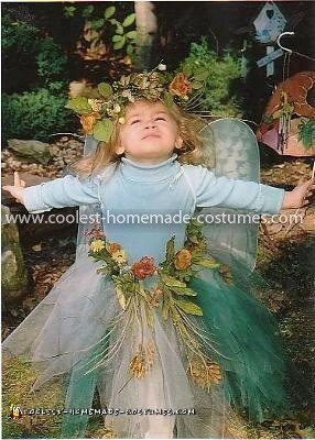Homemade Woodland Fairy Costume