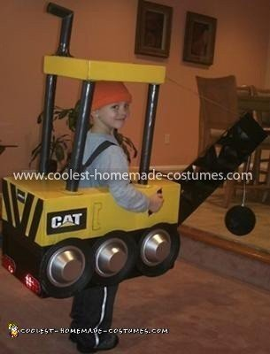 Homemade Wrecking Ball Costume