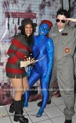 Homemade  X MEN Mystique DIY Costume