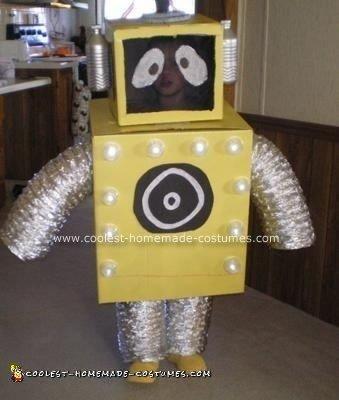 Plex the robot costume from Yo Gabba Gabba