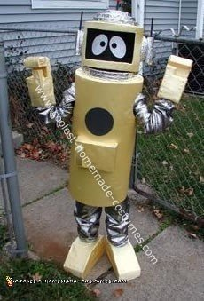Plex - Yellow Robot from Yo Gabba Gabba