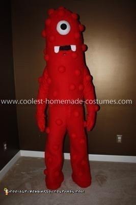 Homemade Yo Gabba Gabba Costume