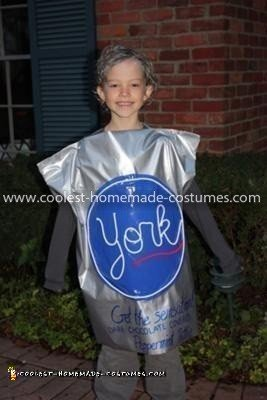 Homemade York Peppermint Pattie Costume