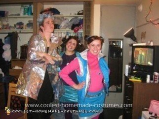Homemade Zenon: Girl of the 21st Century Group Costume