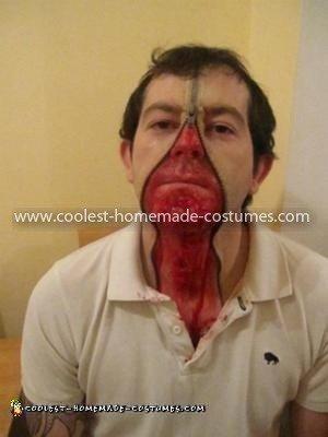 Coolest Zipper Face Costume