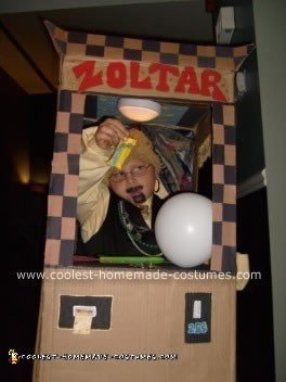 Homemade Zoltar Fortune Teller Machine Costume
