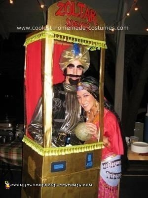 Zoltar Speaks and Gypsy Halloween Costume Ideas
