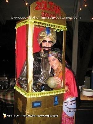 Zoltar Speaks and Gypsy Halloween Costume Ideas