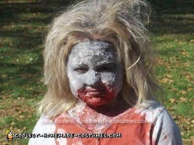 Homemade Zombie Child Costume