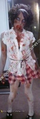 Homemade Zombie DIY Halloween Costume Idea