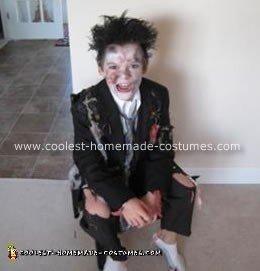 Homemade Zombie Halloween Costume