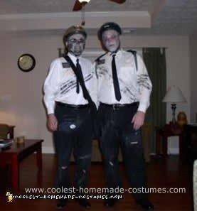 Homemade Zombie Mormon Costumes