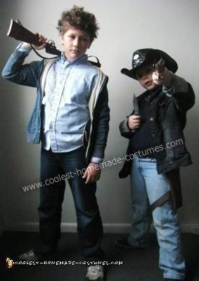 Coolest Zombieland Couple Costume