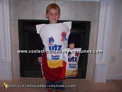 Creative Costume Idea for a Bag of Potato Chips