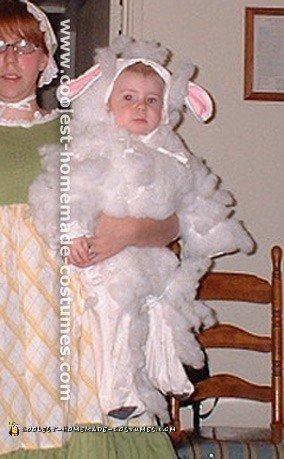 Cute Homemade Sheep and Lamb Costume Ideas