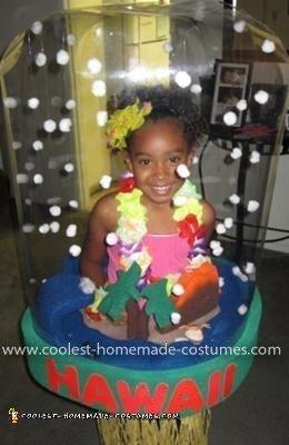 Homemade Snowglobe Costume