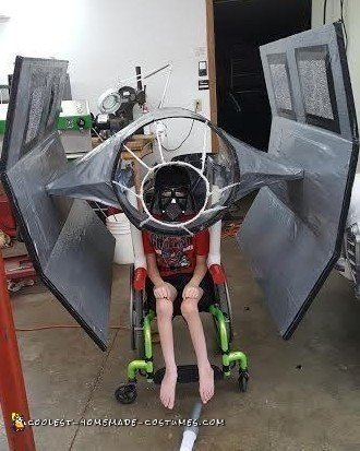 Coolest Darth Vader and Ship Costume