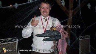 Homemade District 9 Wikus Costume