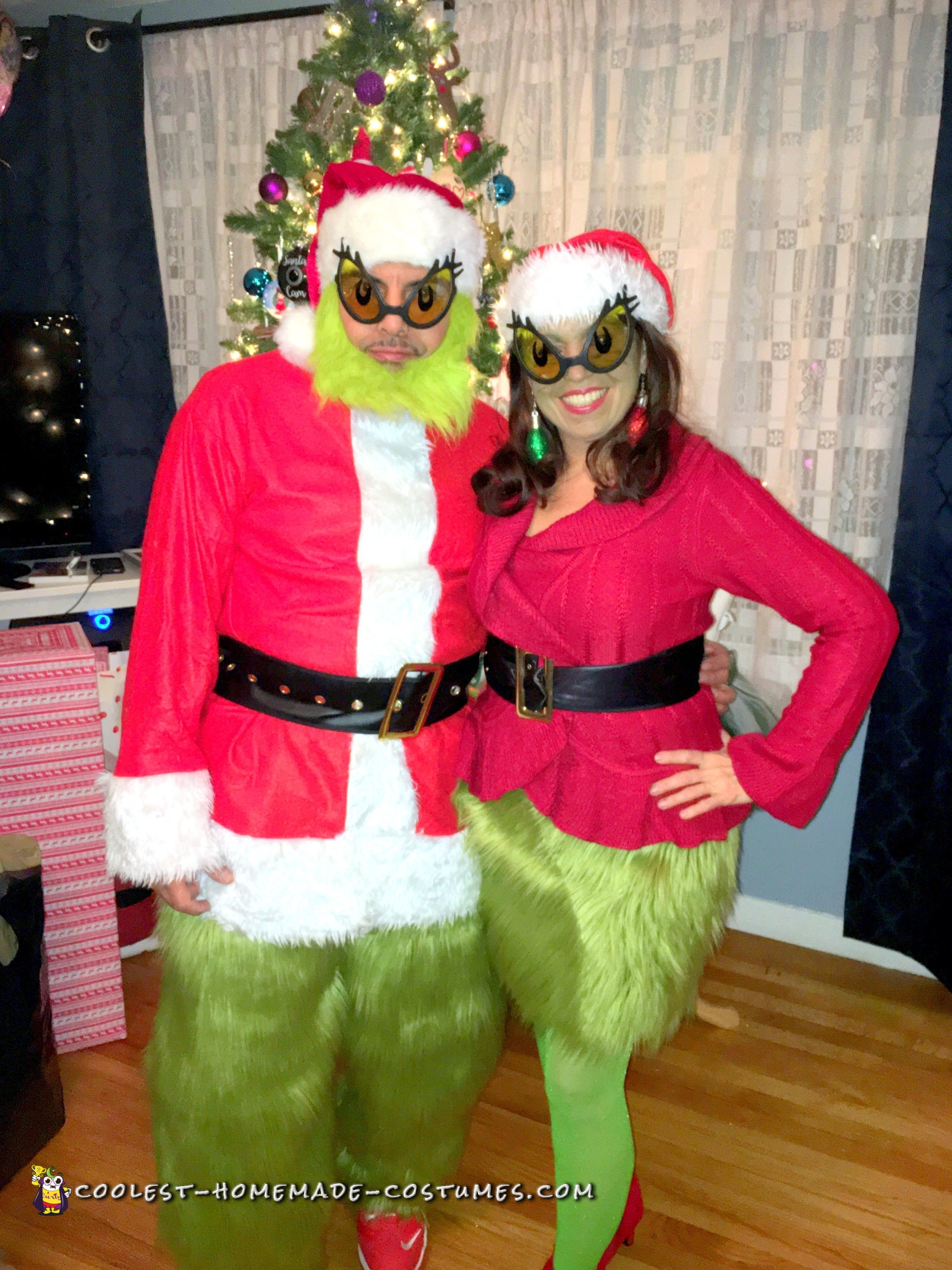 coolest diy grinch costumes