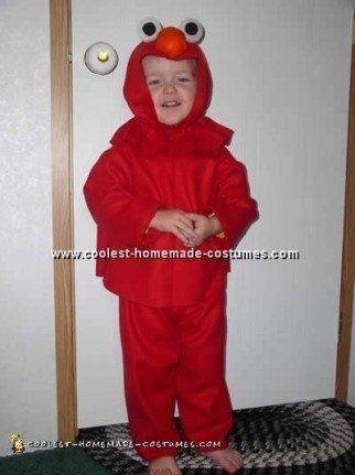Coolest Homemade Elmo Costume Ideas