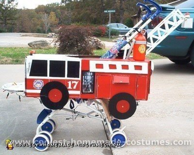 Coolest Homemade Firefighter Costume