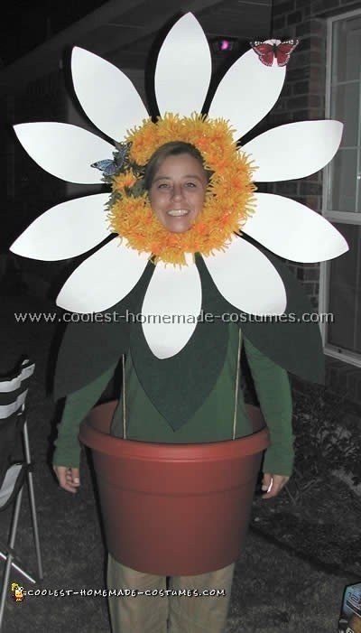 As A Joke To All My Friends Who Are Always Ing Me Daisy Paraphernalia Last Year I Made This Homemade Flower Costume