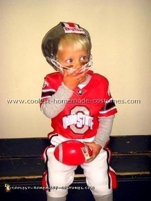 Ohio State Buckeye Player Cosume