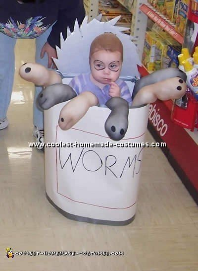 Can of Worms Costume