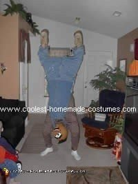 Upside Down Person - Weird Halloween Costume