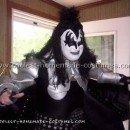 Coolest Gene Simmons Costume - DIY KISS Demon