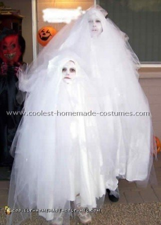 Fun and Spooky Homemade Ghost Costume Ideas