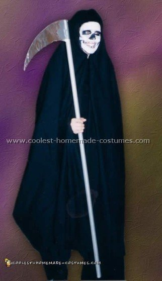 Coolest Homemade Grim Reaper Costume Ideas and Photos